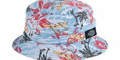 Dickies Palm Harbour Bucket hat The Dickies Palm Harbour bucket hat from the Spring 2015. Really well made cotton sun hat with an all over print breather eyelets and a woven Dickies horseshoe label. http://www.comparestoreprices.co.uk/fashion-clothing/dickies-palm-harbour-bucket-hat.asp