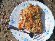 Zdrowe owoce kruszonka Multi-(z mąki owsianej i kokosowego) | Sun kuchni