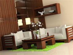 Modern Wooden Sofa White Designs 640x479
