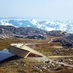 Dorte+Mandrup+unveils+plans+for+tent-like+climate+research+centre+in+Greenland