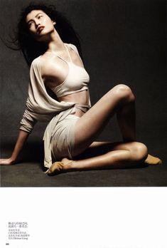 Liu Wen, Sui He & Ming Xi by Daniel Jackson for Vogue China May 2012