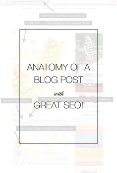 Talking where to put what in your blog post for good SEO | blogging resource | Kristi Murphy