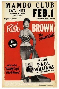 RUTH BROWN AU MAMBO CLUB