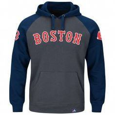 Boston Red Sox Majestic MLB Cunning Play Hoodie (Gray)