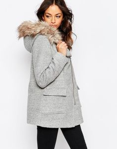 This coat is perfect for fall snuggles