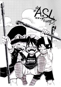 ASL - Ace, Sabo, and Luffy