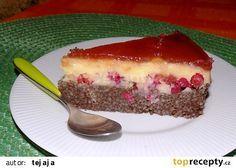 Nepečený dort z kuskusu s rybízem recept - TopRecepty.cz