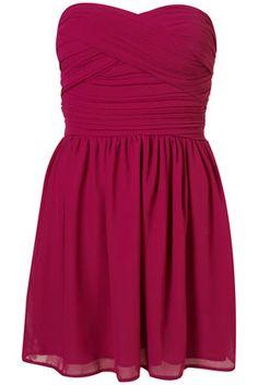 adorable <3 Chiffon Bandeau Dress by Rare**