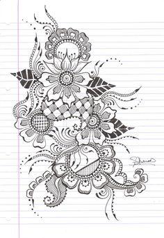 tattoo ideas, pretti henna, thigh tattoos, henna designs, henna tattoos, art, henna tattoo designs, hennas, doodl
