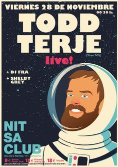 Todd Terje en Nitsa