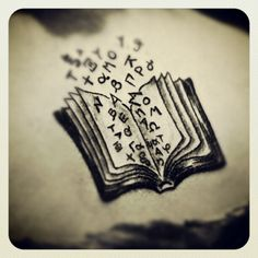 My first tattoo, my perfect book. #tattoos #books