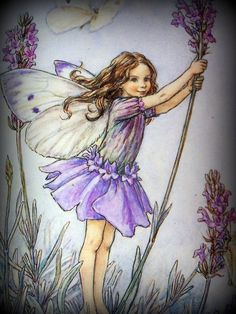 Lavender Fairy by Cicely Mary Barker