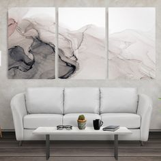 Designed to resonate andspark a mix of feelings. Every day. Whether you love art or just looking todecorate your home, this hand-stretched piece will instantly create a new ambience and massively impact your daily life.  High-Quality finish - Looks the same as you see on our website Proven patterns & color - Bring Life, Motivation & Happinessto your Walls Printed by Artisan - Get the same Quality as a Museum (last 75 years) Designed by Artists - Forget about Borin Ink Painting, Painting Prints, Grand Art Mural, Oversized Canvas Art, Wall Art Crafts, Large Abstract Wall Art, Marble Texture, Modern Wall Decor, Extra Large Wall Art