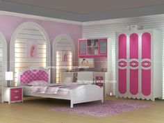 pleasant arrangement for elegance font b girls pink bedroom style set twin or queen listed in