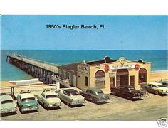 Flagler Beach Florida - Heaven on Saturdays in the 1950's