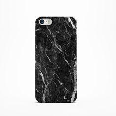 BLACK MARBLE iPhone 6 Case 4 /4s /5/ 5s /5c Case