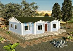 112 m² Tek Katlı Prefabrik Ev