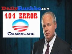 RUSH: ObamaCare Website Glitches Are Purposeful In Order To Keep People From Learning Actual Costs10/14