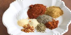 Homemade Taco Seasoning...the store bought packets of seasoning can be very carby since many have added sugar.