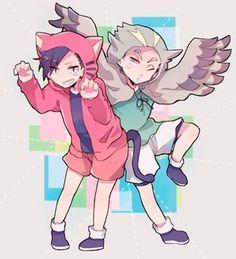 Haikyuu!! Kuroo and Bokuto