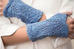 Ravelry: Bromley Mitts pattern by Jill Wolcott- free knitting pattern
