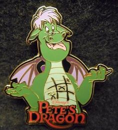 Disney WDW 2001 LE Elliott Pete's Dragon Epcot Mystery Pin