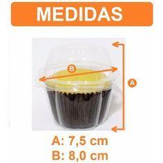 Embalagens Caixa Cupcake 100 Unidades - R$ 39,89 no MercadoLivre