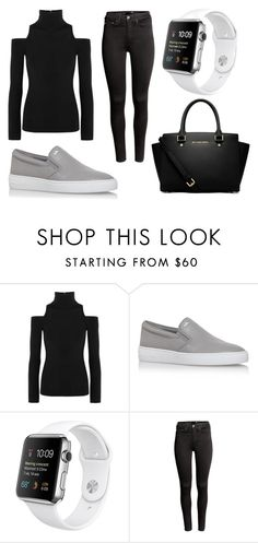 """""""Meetings"""" by tigerlily789 ❤ liked on Polyvore featuring Donna Karan, MICHAEL Michael Kors and H&M"""