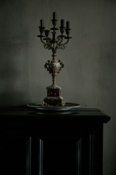 Finally the wind blew through every crack in the house, blowing out any candles.
