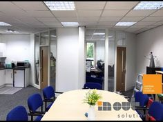 Glass Partitions and Office Refurbishment Sheffield Rotherham Yorkshire Glass Office Partitions, Glass Partition, Sheffield, Leeds, Yorkshire, Videos, Table, Furniture, Home Decor