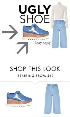 """Ugly Shoe"" by jesking ❤ liked on Polyvore featuring STELLA McCARTNEY, River Island and A.L.C."