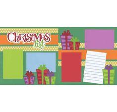 Christmas List Page Kit