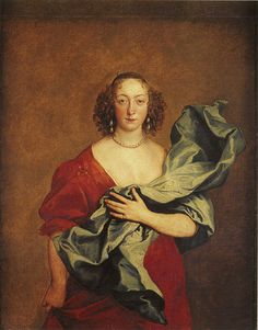 Anthony van Dyck, c. 1635-38 - - - The Countess of Castlehaven