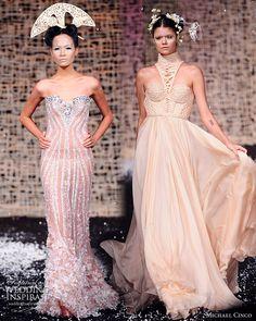 Michael Cinco Wedding Gowns 2010 | Wedding Inspirasi