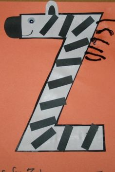 letter z crafts for preschool - Google Search