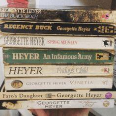 Jane to Georgette- Ranking of Georgette Heyer Book covers