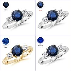 ☺ ☺ Be My Valentine, Gemstone Jewelry, Sapphire, Nice Jewelry, Gemstones, Rings, Gems Jewelry, Gems, Ring