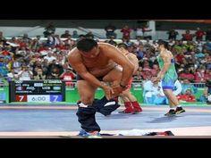 Mongolian Wrestling Coaches Go Nuts Strip Down After Unfavorable Decision