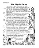 Duty to God (Cub Scout Wolf Adventure) People who came to America for religious freedom - Pilgrim Story Printable