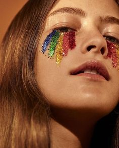 Festival Make Up Makeup Inspo, Makeup Art, Makeup Inspiration, Eye Makeup, Makeup Ideas, Style Inspiration, Airbrush Makeup, Glitter Carnaval, Make Carnaval