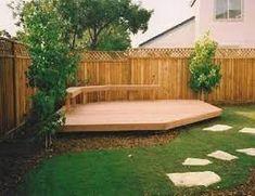 Image result for garden decking designs