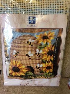 Vervaco Beehive Cross Stitch Cushion Kit BNIB