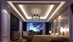 The latest pop design false ceiling for bedroom 2019 and how to choose the best option for your bedroom ceiling with plaster of paris, How to install pop ceiling design and how to finish it. House Design, Home Ceiling, Roof Ceiling, Pop False Ceiling Design, Living Room Ceiling, Modern Ceiling, Ceiling Design Modern, Roof Design, Living Room Designs