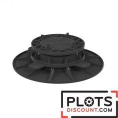 Plot terrasse réglable 40/65 mm pour dalle  Plots de terrasse à prix discount , qualité française expédié en 24 H