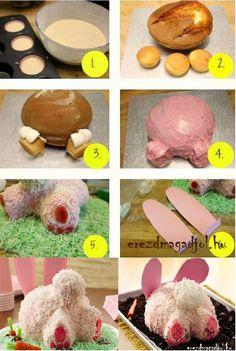 Nyuszipopsi torta :-)