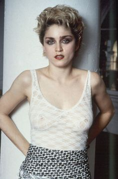 18 Stunning Photos of Madonna Taken by Tom Morillo in 1982 ~ vintage everyday Madonna Music, Lady Madonna, 1980s Madonna, Pop Singers, Female Singers, Veronica, Look 80s, Madona, Madonna Pictures
