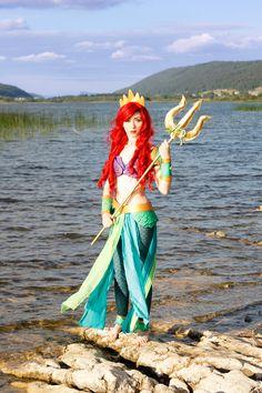Phobos Cosplay als Ariel