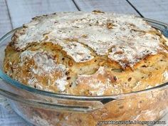 Healthy Bread Recipes, Cake Recipes, Cooking Recipes, My Favorite Food, Favorite Recipes, Bread Bun, Polish Recipes, Slow Food, Food Inspiration