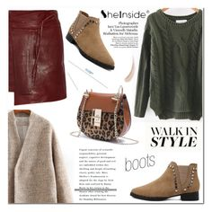 """""""Kick It: Chelsea Boots"""" by aurora-australis ❤ liked on Polyvore featuring Isabel Marant, Kevyn Aucoin, Sheinside and chelseaboots"""