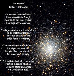 La Steaua - Mihai Eminescu Romania, Wisdom, Humor, Words, Quotes, January, Country, School, Frases